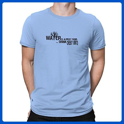 Teeburon Water is almost gone drink Cheeky Vimto T-Shirt - Food and drink shirts (*Amazon Partner-Link)