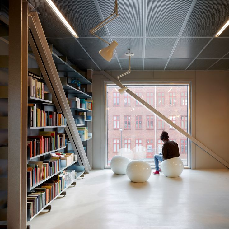 Contemporary Library Design In Copenhagen Denmark By COBE Architecuture