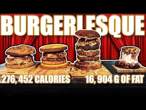Burgerlesque - Epic Meal Time - http://www.bestrecipetube.com/burgerlesque-epic-meal-time/