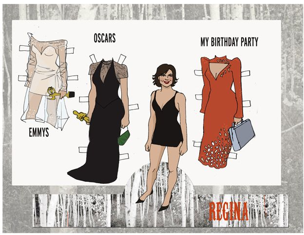 Queen Regina Paper Doll Collection