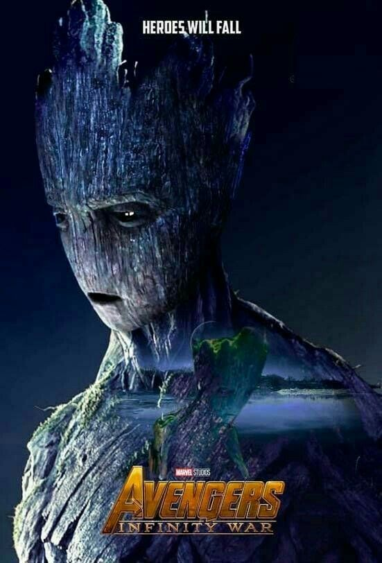 i just found out something about groot in infinity war - 551×812