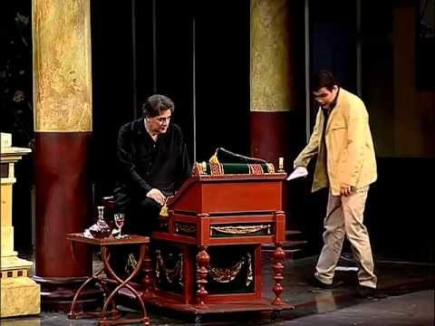 Орнифль Жан Ануй А.Ширвиндт #ТеатрСатиры 2004 год #ПолныеВерсииСпектаклей - YouTube
