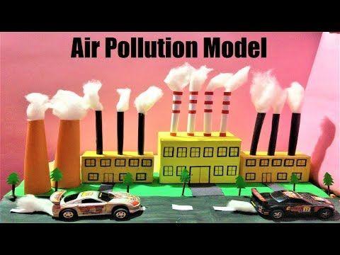 Air Pollution Model Factory Model Science School