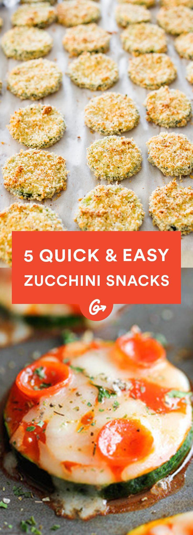 What are some quick zucchini recipes?