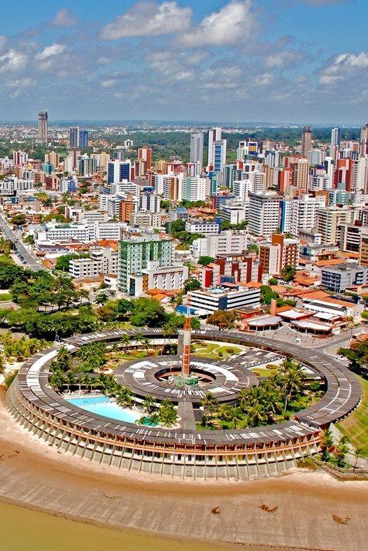João Pessoa, capital do estado da Paraíba, Brasil.
