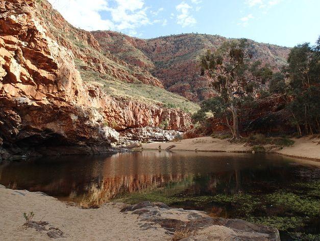Ormiston Gorge - beautiful part of Central Australia