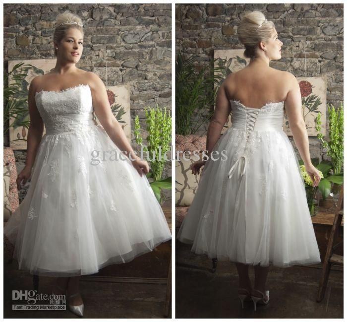 Wholesale wedding dress plus size