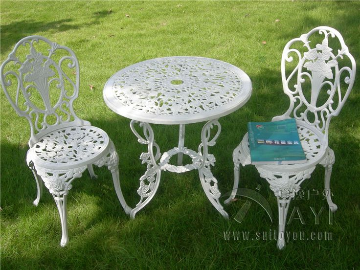Superb Online Get Cheap White Metal Patio Chairs  Aliexpress.com .