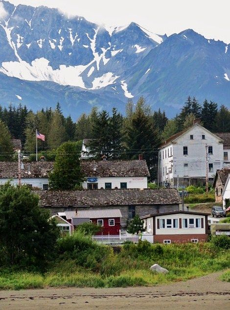 Sitka, Alaska....Russian influence still seen here.....located on Alaska's panhandle, it ranks 6th largest in the seafood industry in the US.
