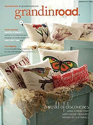 33 Home Decor Catalogs You Can Get for Free by Mail: Grandin Road Home Decor Catalog