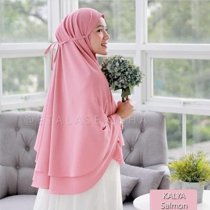 Jilbab Kerudung Syari Jumbo Kayla Terbaru Model Pakaian Gaya Hijab Kerudung