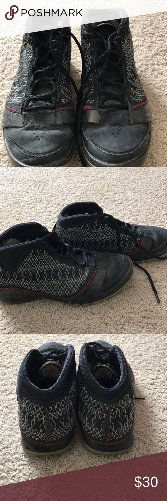 Jordan 23 Shoes in ok condition  Has wear and tear on front of shoe Was just sitting in my closet for years Air Jordan Shoes Athletic Shoes