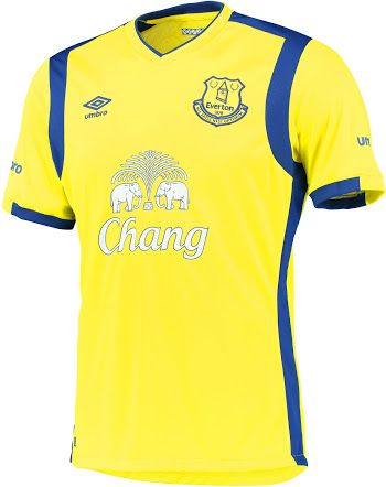 Everton third 16/17
