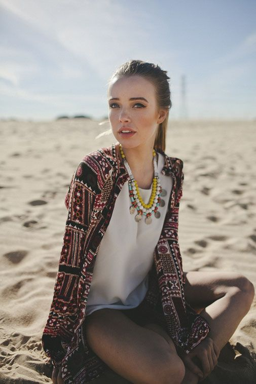 Breakfast at Yurman'sFashion Outfit, Tribal Vibes, Boho Chic, Statement Necklaces, Fashion Style, Fashion Models, Summer Style, Jackets, Bohemian