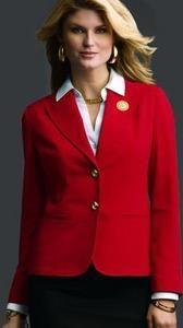 Красный пиджак 6 мэри кэй