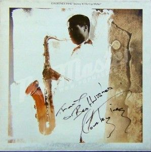 """COURTNEY PINE """"JOURNEY TO THE URGE WITHIN""""  ILPS 9846 signed autograph"""