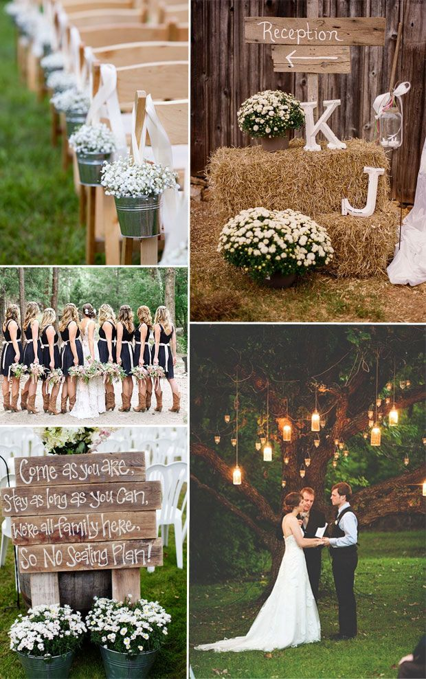 rustic inspired wedding ideas for 2015 wedding trends