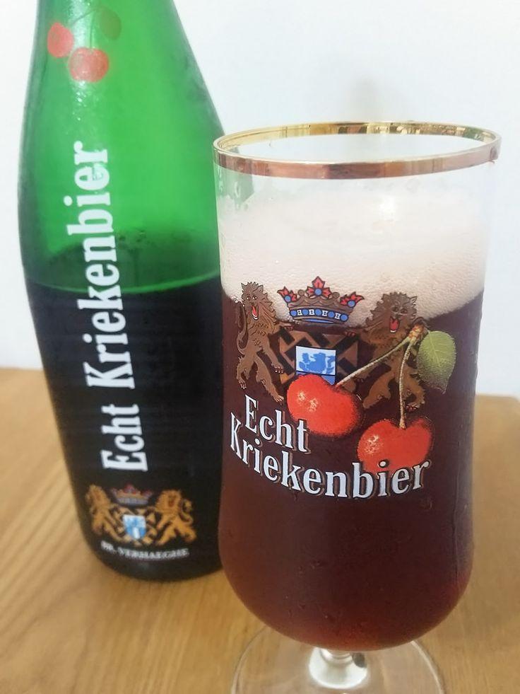 Echt Kriekenbier Echt Kriekenbier Alc.68%Vol. e75cl Brouwerij Verhaeghe-Vichte Sint-Dierikserf 1 B-8570 Vichte http://ift.tt/1Uzl3mi