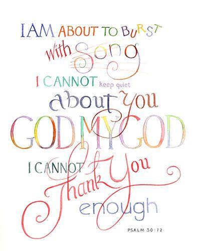 Psalm 30:12 | www.texgrubbs.com | Tex Grubbs | Flickr