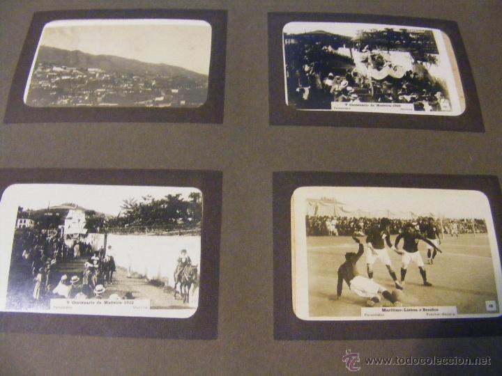 ANTIGUO ALBUM DE FOTOGRAFIAS DE ISLA DE MADEIRA DE EVENTOS EN LOS AÑOS 20