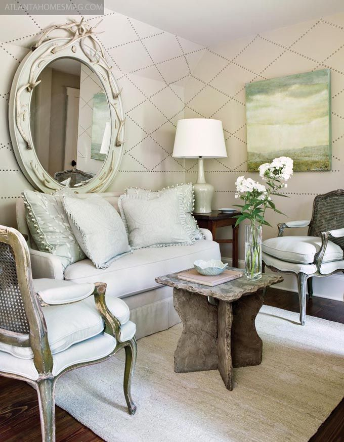 367 best images about mirror decor on pinterest for Beautiful sitting rooms