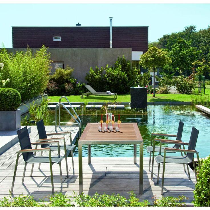53 best Edelstahlmöbel images on Pinterest Stainless steel, Sofa - sitzgruppe im garten gartenmobel sets