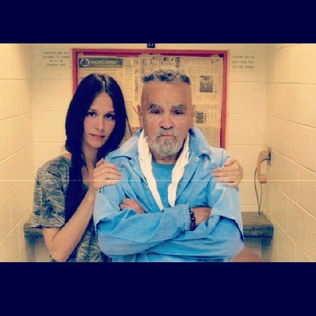 "Say It Ain't So… Charles Manson to Marry 25-Year-Old Hottie? It's the most disturbing couples story of the day… Charles Manson, 79, is getting married to a 25-year-old hottie named ""Star."" What's even creepier? She looks just like late Manson family member Susan Atkins. It's sad he can get a girlfriend/fiance from jail."