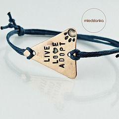 Trójkątna II - Live Love Adopt Bracelet