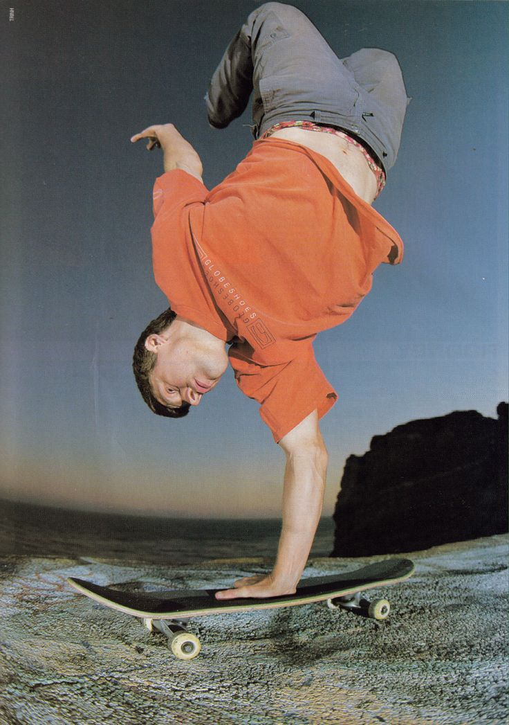 Rodney Mullen | King of Street Search for his skate videos and see why he is the best trickster.