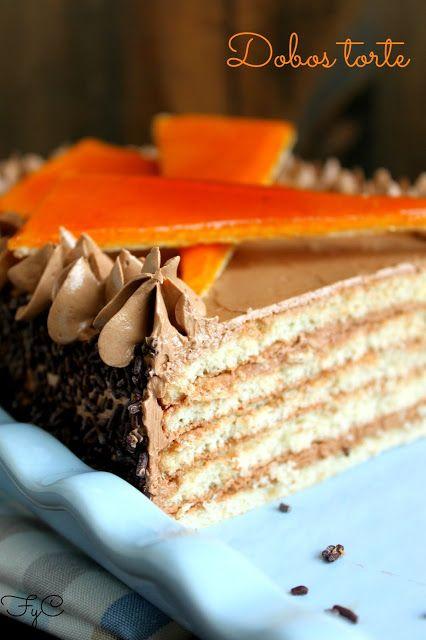 Dobos torte | Food & Drink | Pinterest
