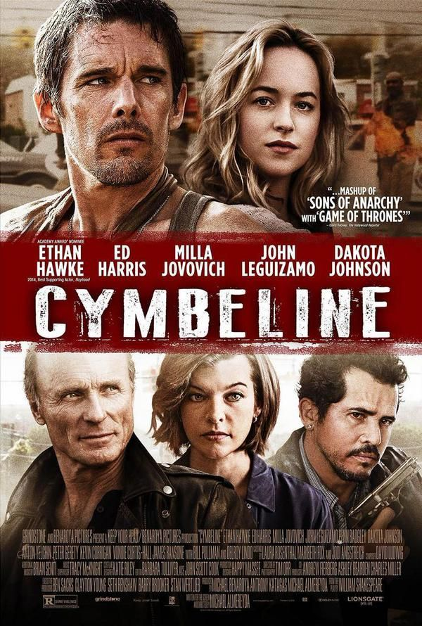 New promo poster for Dakota Johnson's new movie Cymbeline/Anarchy!! Can't wait!! 50 Shades of Christian and Ana