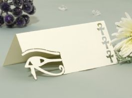 Egypt Wedding Name Place Cards (Pack 10)