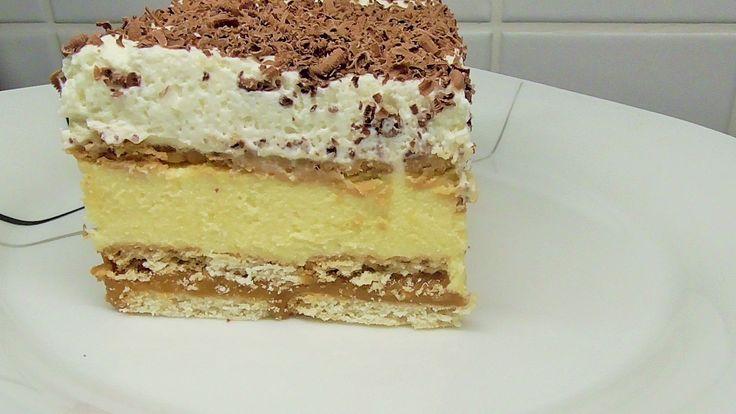 Pyszne ciasto 3 BIT Bez pieczenia /Kasia ze slaska gotuje