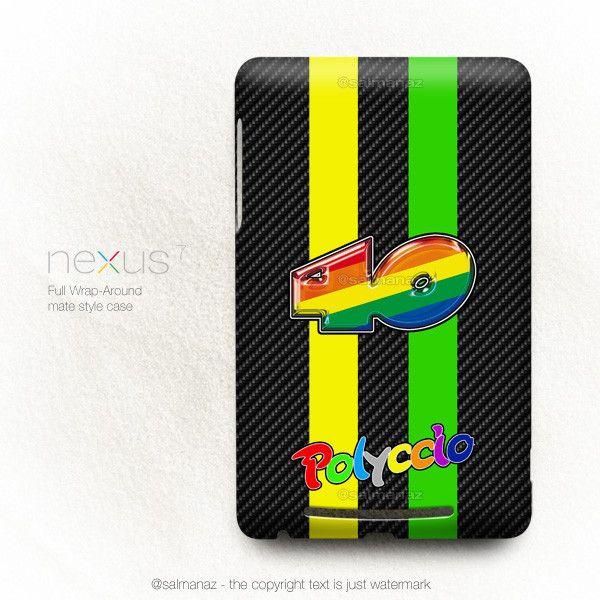 Pol Polyccio Espargaro Moto2 Champion Monster Team Asus Google Nexus 7 Case