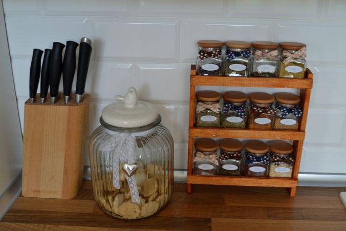 Stojak na przyprawy DIY - hand made - spice rack