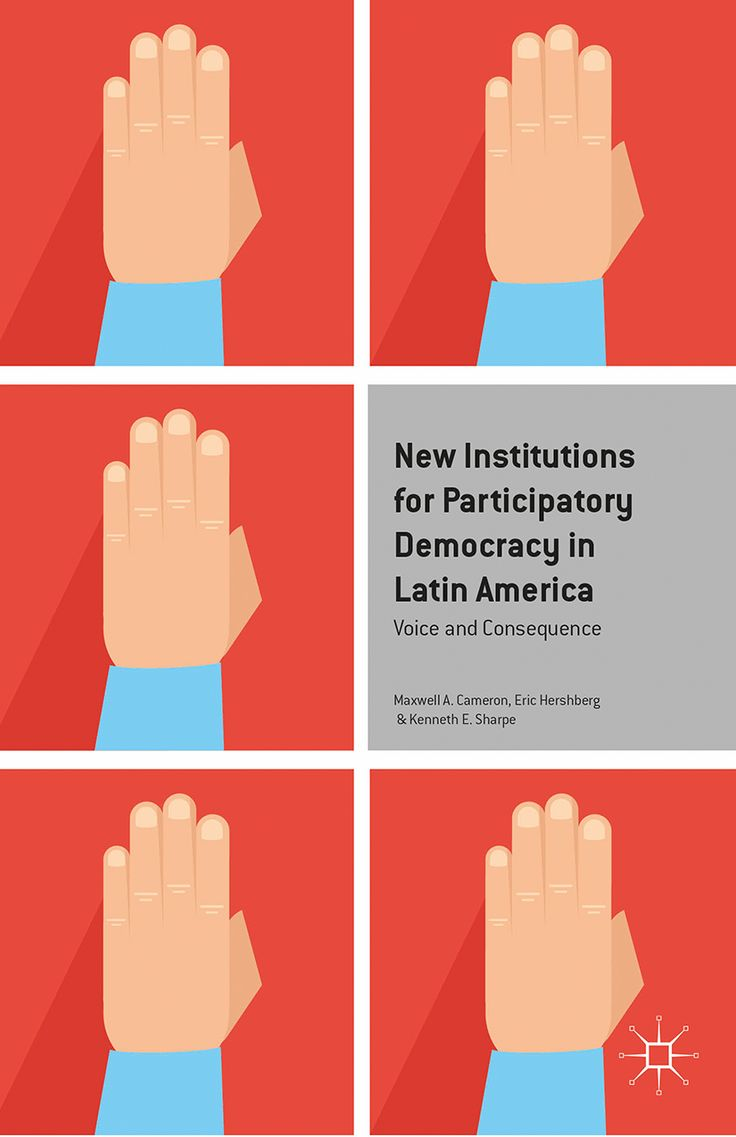 New Institutions for Participatory Democracy in Latin America book cover ©Palgrave Macmillan