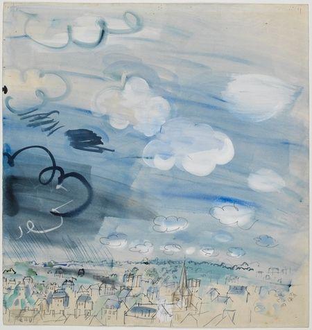 l'Averse de Raoul Dufy
