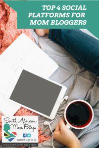 top social media for SA mom bloggers