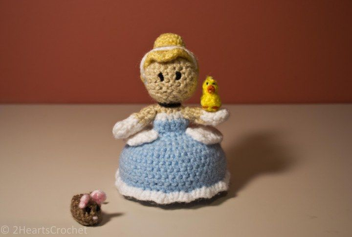 The original Two Hearts Crochet princess ami patterns. (Note: these patterns are not edited and most likely contain errors.)