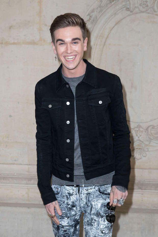 Gabriel-Kane Day-Lewis (21ans) au défilé Christian Dior le 30 septembre dernier à Paris.