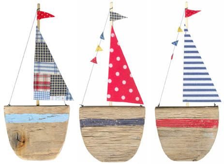 boats: Sailboats Decor, Ideas, Craftart Projects, Nautical Home Decorating, Recycled Wood, Sea, A Frames, Driftwood Boats, Beaches Decor