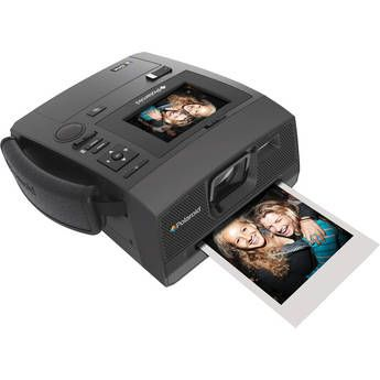 Old school Polaroid meets state-of-the-art digital camera.  Shoot digital, get a print in 60 seconds.