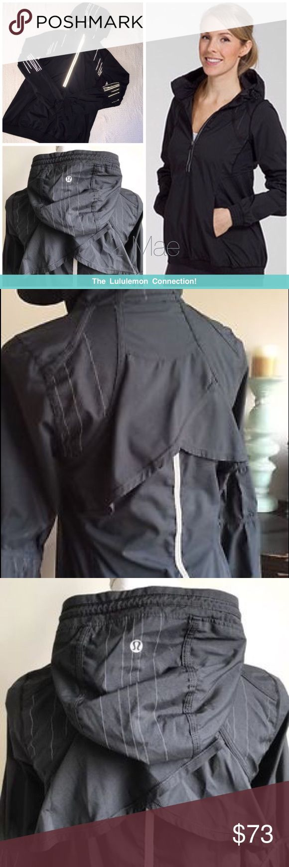 Lululemon Will Power half zip windbreaker Comes from a Very Clean, Smoke Free home *Excellent condition * No rips, pulls, tears, pilling, etc Message me with any questions! Sorry, no trades! Bundle 2 Items for 10% off Happy Poshing ☺️  Reposh! It didn't fit me lululemon athletica Jackets & Coats