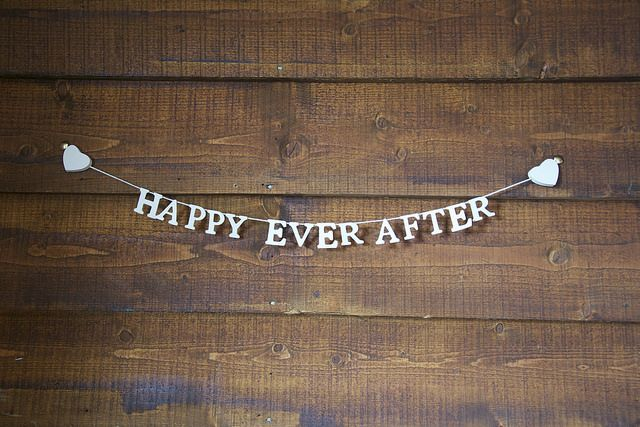 Happy Ever After Wedding Bunting