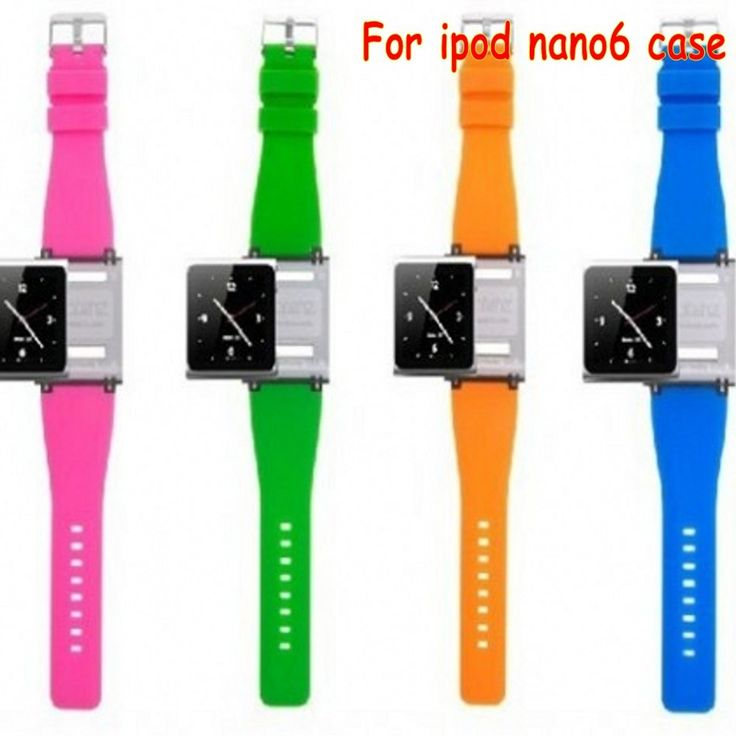 Free shipping  Wrist Strap Watch Band for iPod nano 6 for ipod nano6  With Retail Package 9 colors for nano6 case funda coque #>=#>=#>=#>=#> Click on the pin to check out discount price, color, size, shipping, etc. Save and like it!