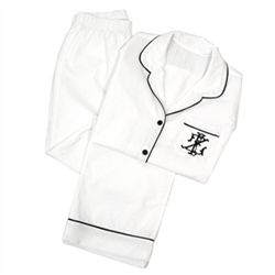 Monogrammed Ladies Pajama Set  LOVE these  www.zhush.com