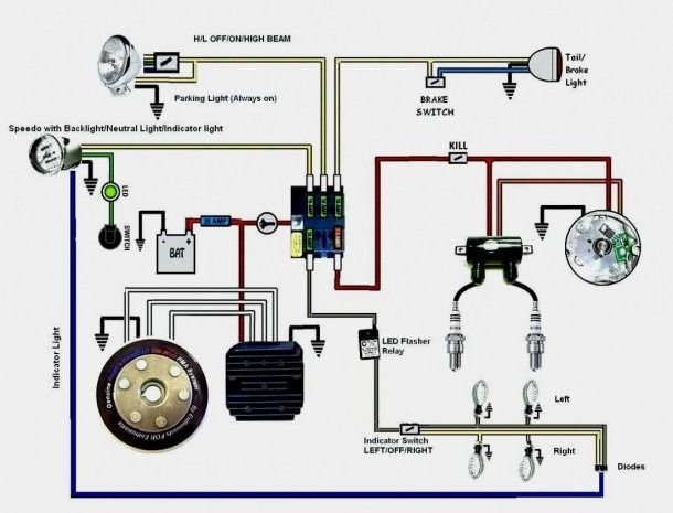 Jones Chopper Circuit Diagram | Circuit diagram, Diagram, Xs650Pinterest