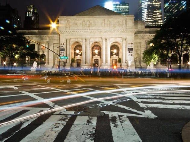Go to a free late-night party at the New York Public Library
