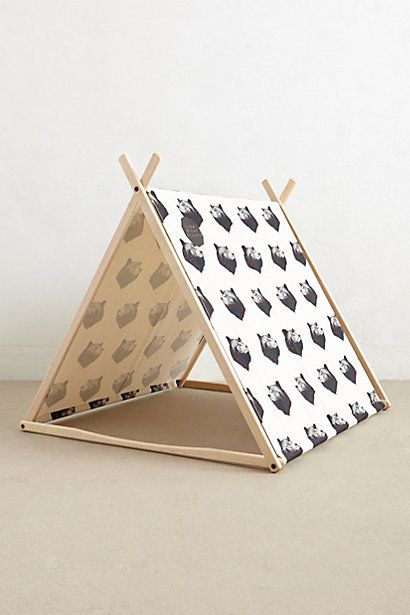 Black Bear Play Tent - anthropologie.com