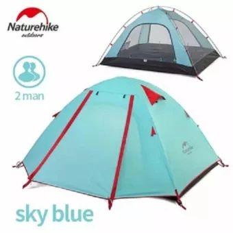เก็บเงินปลายทาง  Naturehike aluminum pole tent outdoor 2 people Double layerWaterproof wind stopper camping tent set - intl  ราคาเพียง  2,575 บาท  เท่านั้น คุณสมบัติ มีดังนี้ Applicable number: 1-2 people External tent waterproof: PU coating waterproof 3000mm Inner tent material: 210T ripstop polyester cloth Bottom sheet material: 150D anti-tear Oxford cloth Inner rod material: 7001 aviation aluminum alloy pole Size: 210 * 135 * 110cm Weight: 2.1kg Accessories: aluminum spike 10-12 root…
